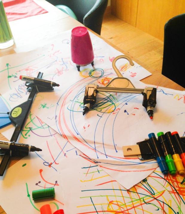 Brain Building While Making Colouring Pens MOREFun!